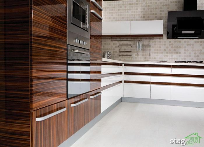 کابینت آشپزخانه های گلاس جدید (1)