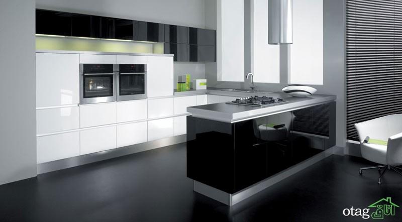کابینت آشپزخانه های گلاس جدید (10)