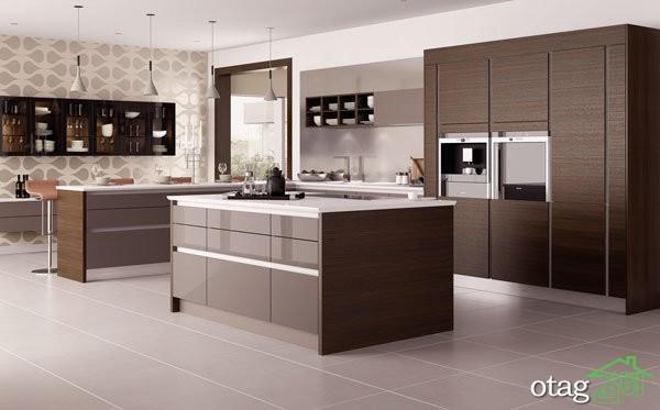 کابینت آشپزخانه های گلاس جدید (12)