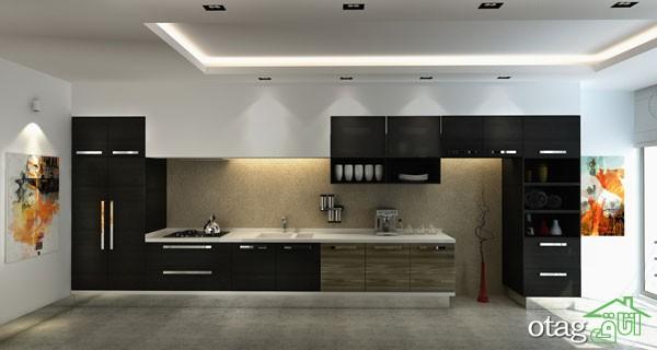 کابینت آشپزخانه های گلاس جدید (16)