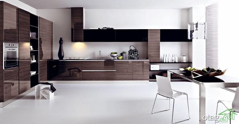 کابینت آشپزخانه های گلاس جدید (17)