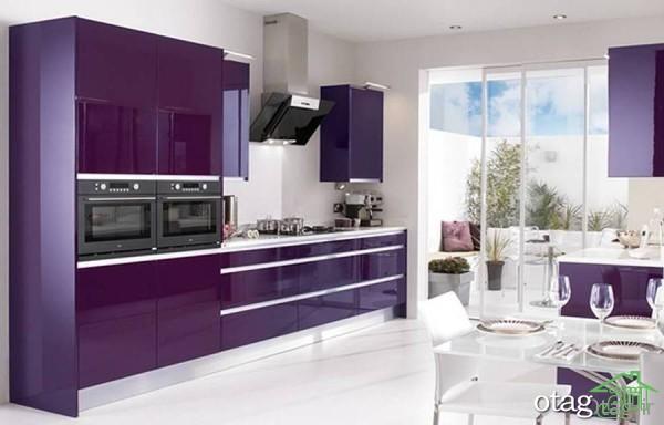 کابینت آشپزخانه های گلاس جدید (2)