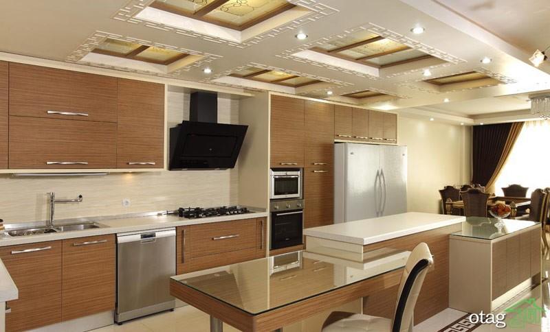 کابینت آشپزخانه mdf مدرن (1)