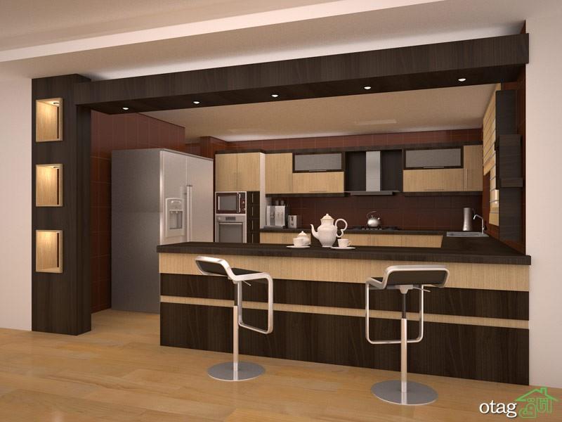کابینت آشپزخانه mdf مدرن (11)