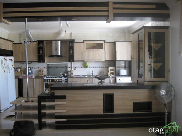 کابینت آشپزخانه mdf مدرن (2)