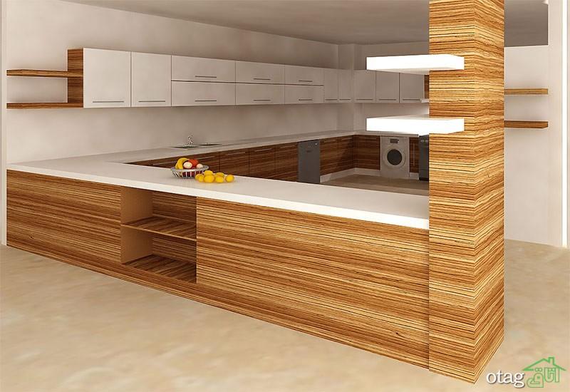 کابینت آشپزخانه mdf مدرن (4)