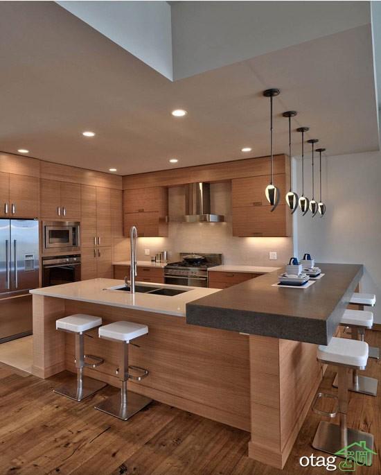 کابینت آشپزخانه mdf مدرن (8)
