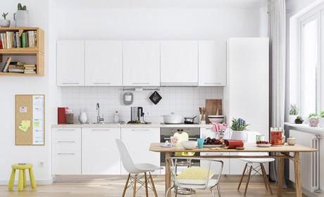 معرفی 30 مدل آشپزخانه فوق العاده شیک با کابینت سفید