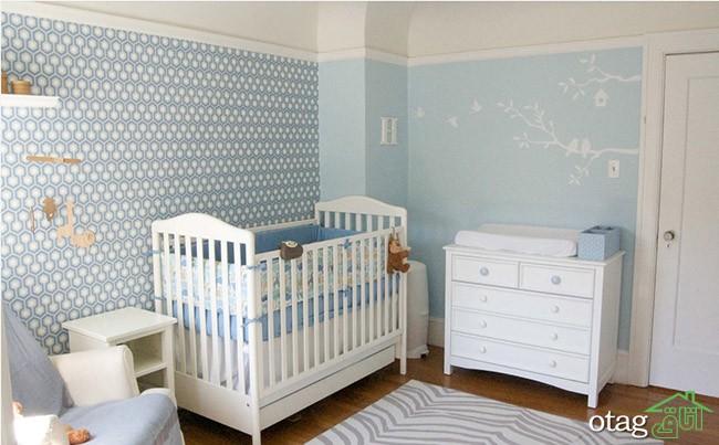 کاغذ-دیواری-اتاق-نوزاد (13)