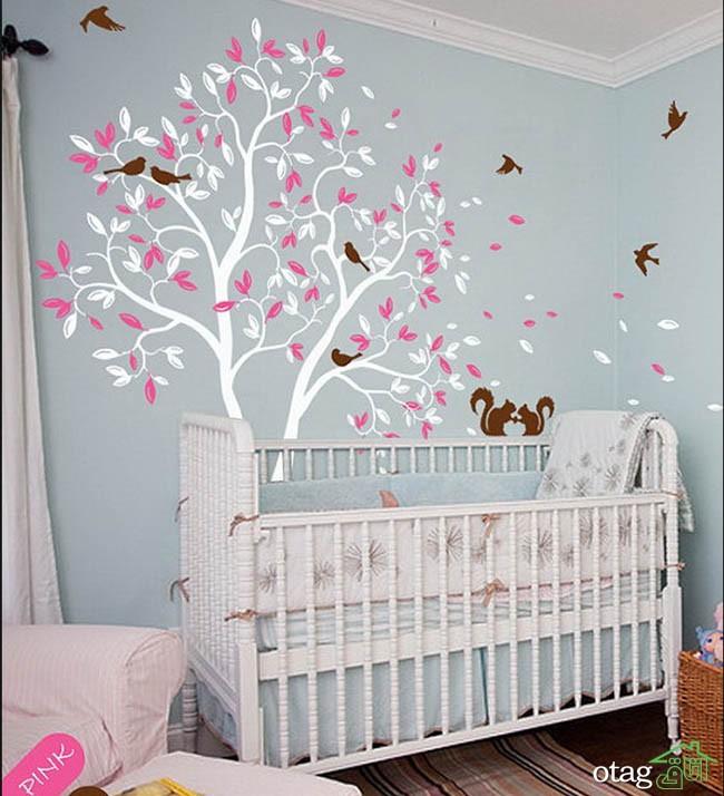 کاغذ-دیواری-اتاق-نوزاد (2)