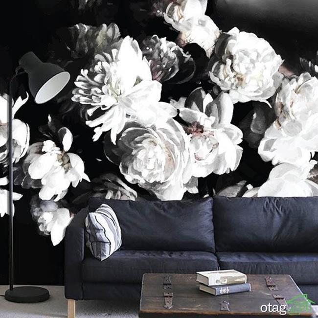 کاغذ-دیواری-سفید-و-مشکی (13)