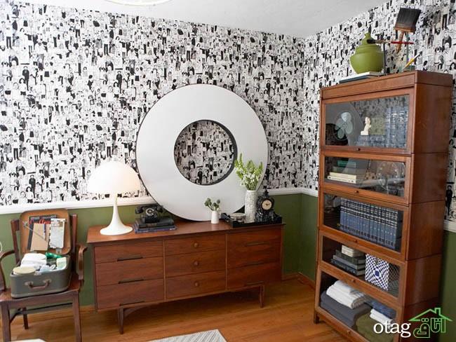 کاغذ-دیواری-سفید-و-مشکی (17)