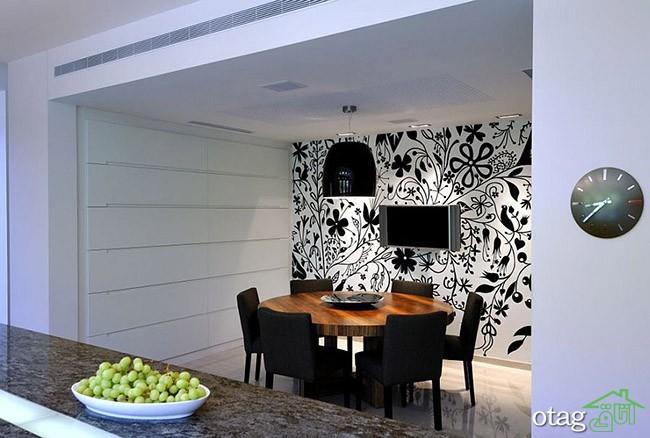 کاغذ-دیواری-سفید-و-مشکی (2)