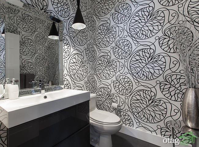 کاغذ-دیواری-سفید-و-مشکی (7)