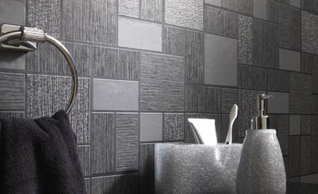 کاغذ دیواری طرح کاشی و معمولی مناسب حمام و سرویس بهداشتی