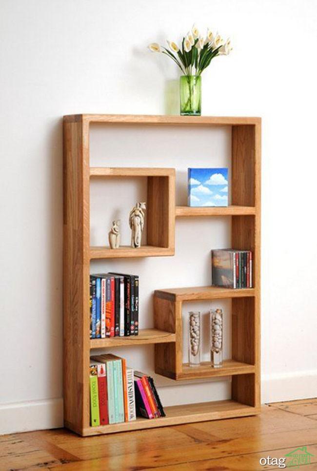 کتابخانه-چوبی-ساده (10)
