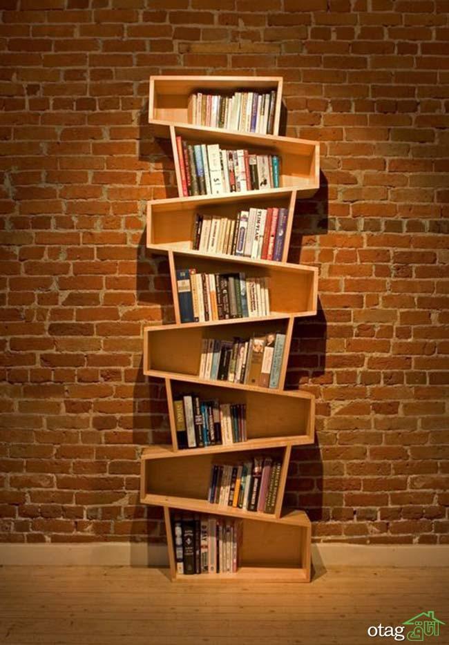 کتابخانه-چوبی-ساده (13)