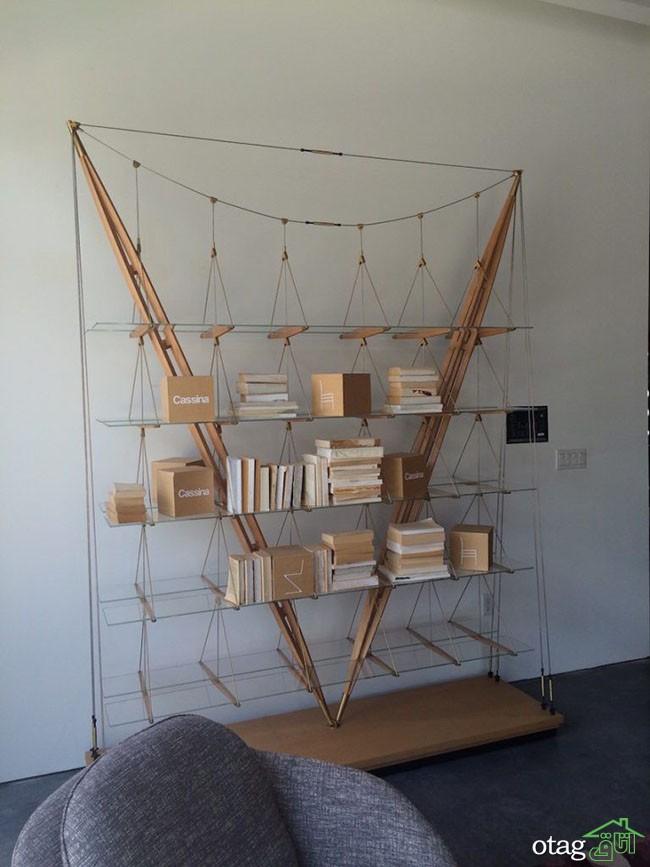 کتابخانه-چوبی-ساده (18)
