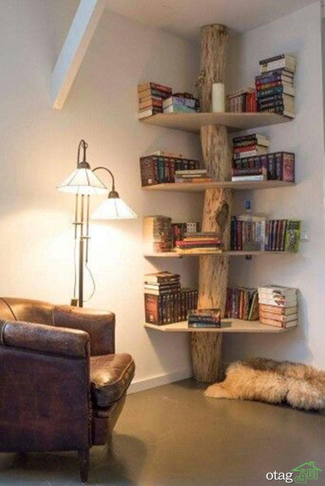 کتابخانه-چوبی-ساده (4)