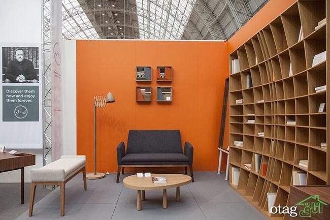 کتابخانه-چوبی-ساده (7)