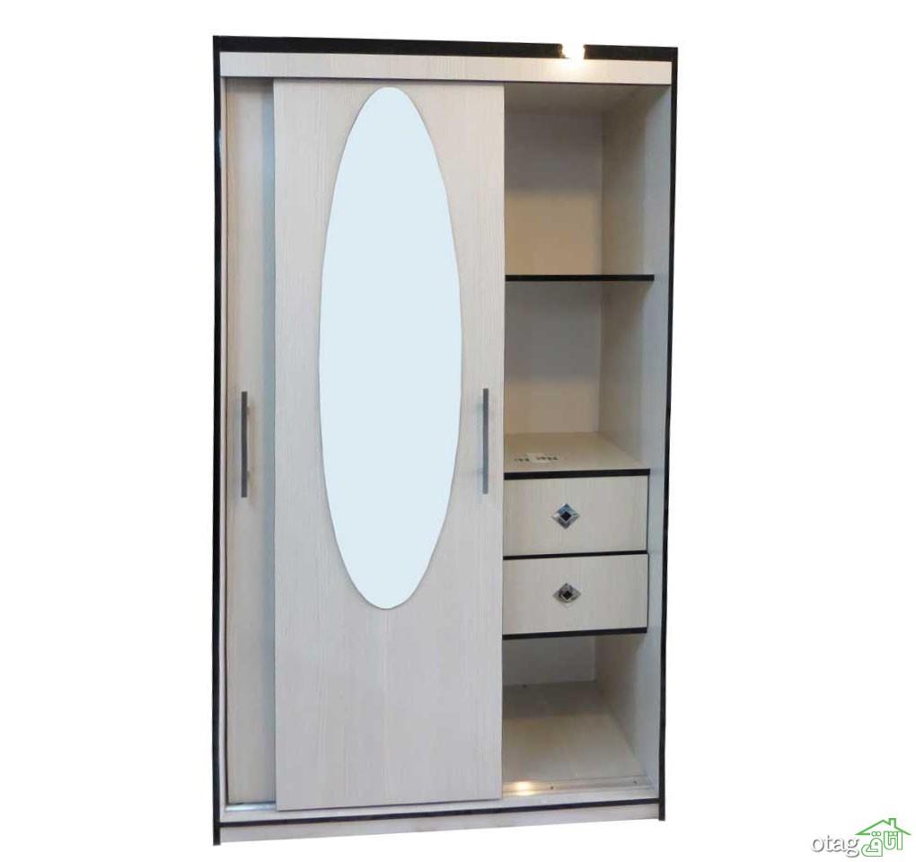 کمد درب ریلی آینه بیضی K 117