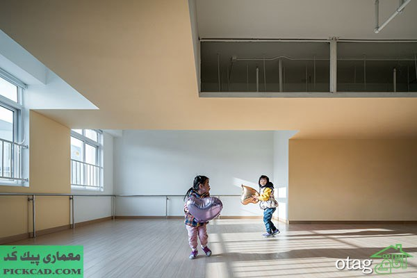 نمونه موردی طراحی مهد کودک به همراه تصاویر با کیفیت بالا