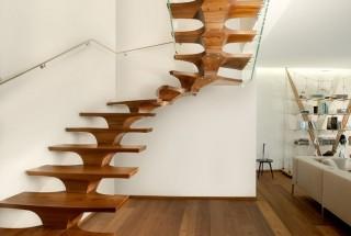 مدل راه پله های زیبا و شگفت انگیز - چوبی - نرده ای /عکس