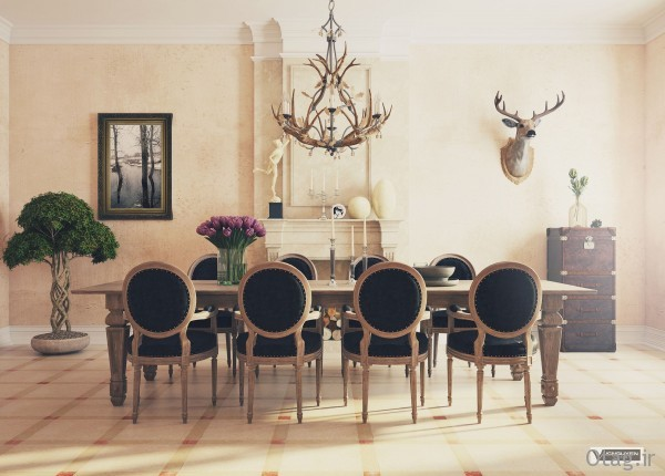 18-Country-dining-room-decor-600x430