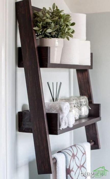 باکس دیواری، انواع مدل قفسه دیواری و شلف چوبی و طاقچه مدرن