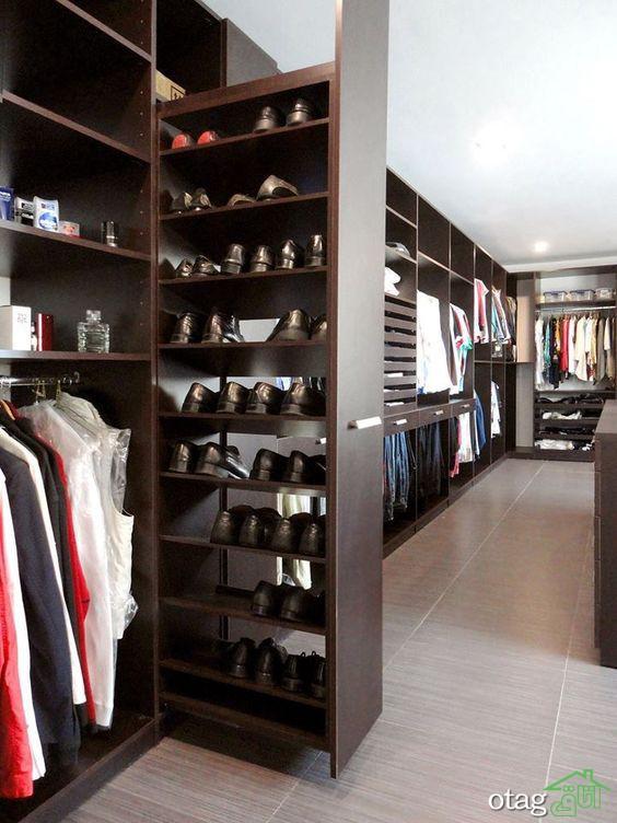 مدل کمد لباس مدرن و جا رختی شیک در طراحی داخلی + عکس