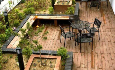 نکاتی برای ساخت روف گاردن و باغچه های پشت بام