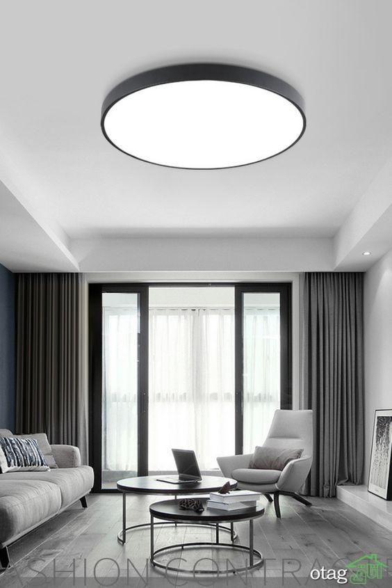 انواع مدل چراغ سقفی و لوستر توپی و لامپ آویز [10 مدل جدید ]