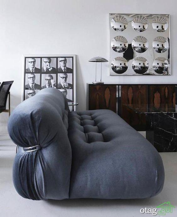 مدل جدید کاناپه و مبل راحتی ایتالیایی با طرح های لوکس و شیک