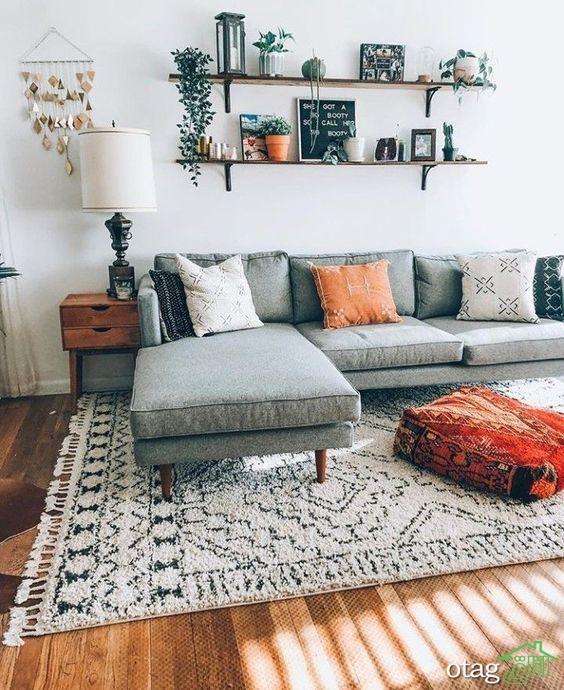 دکوراسیون داخلی ارزان و ساده منزل با طراحی شیک و خلاقانه
