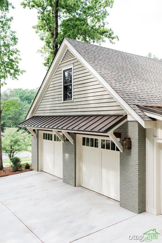 مدل درب پارکینگ یا گاراژ اتومبیل مناسب تمامی ساختمان ها