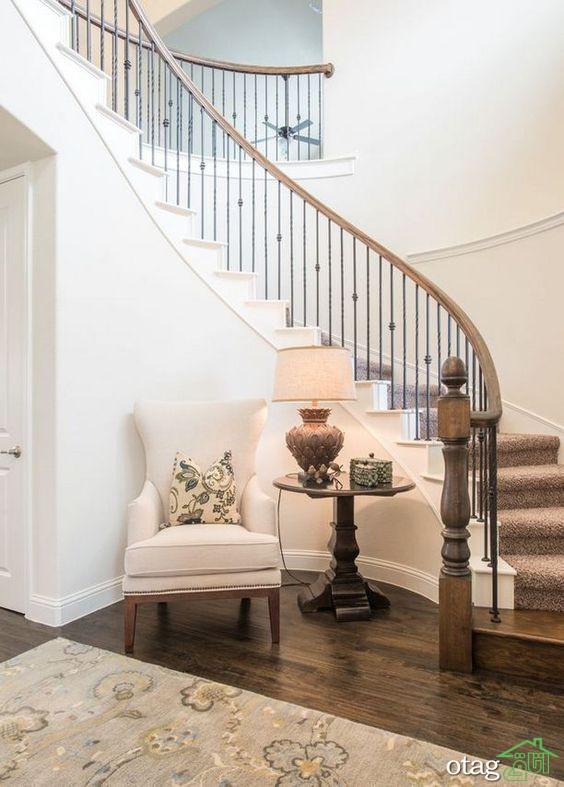 دکوراسیون راه پله داخل منزل با ایده های زیبا و منحصر بفرد