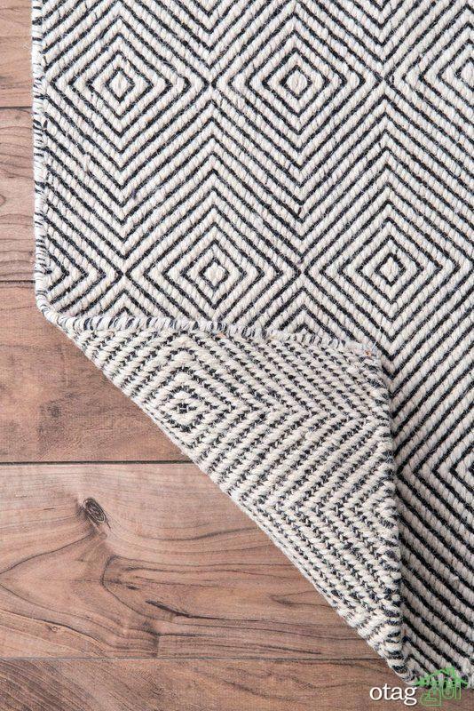 مدل های جدید پادری و قالیچه گلیم شیک با طرح و بافت گوناگون