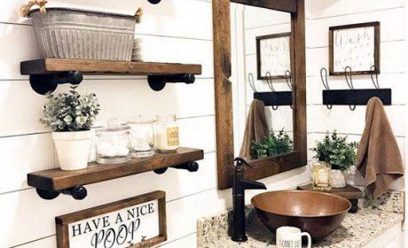 ایده های جدید برای تزئین دیوار حمام و سرویس بهداشتی