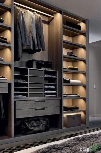 مدل های جدید کمد لباس و کفش برای دکوراسیون داخلی اتاق منزل