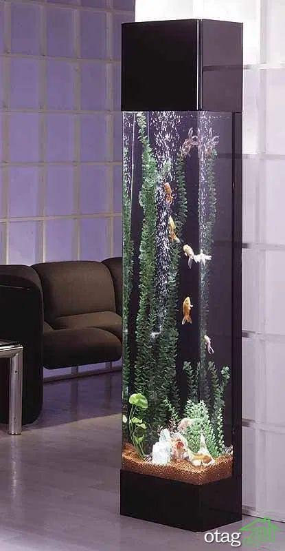 آشنایی با مدل های جدید آکواریوم دیواری مناسب دکوراسیون داخلی