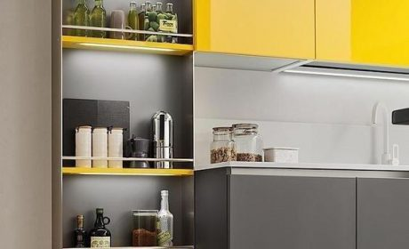 آشنایی با جدیدترین طرح ها و مدل های کابینت آشپزخانه کوچک
