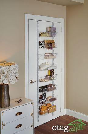 مدل های زیبای قفسه لباس و اکسسوری حمام و سرویس بهداشتی
