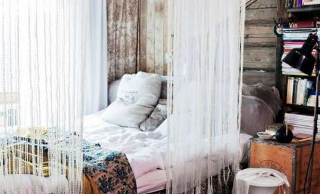 مدل های جدید تخت خواب سایبانی و ستون دار با طراحی شیک و زیبا