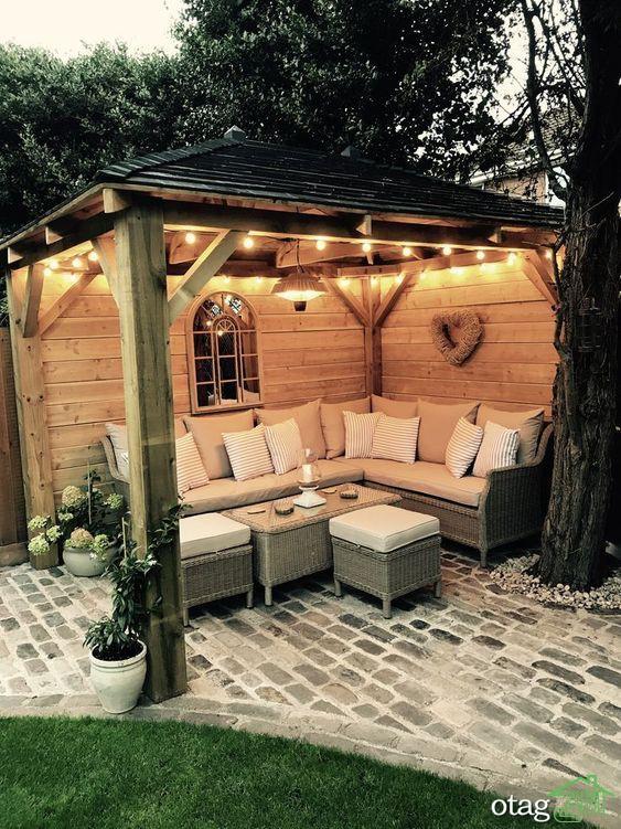 آشنایی با انواع مدل های جدید تخت و صندلی حیاط و تراس خانه