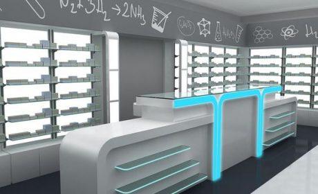 دکوراسیون مغازه موبایل با طراحی شیک، جدید و مدرن