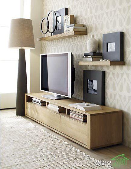 [ چیدمان و تزیین ] دکوراسیون اطراف تلویزیون در اتاق نشیمن