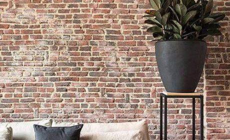 مدل جدید دیوار آجری در دکوراسیون اتاق نشیمن و اتاق خواب