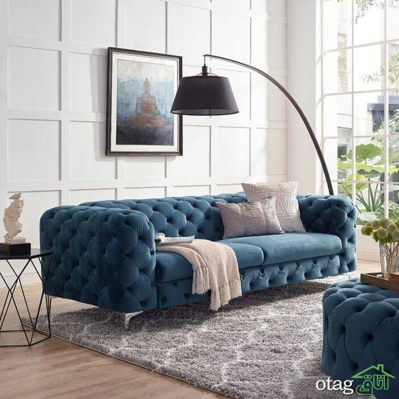 آشنایی با انواع مدل مبل کلاسیک مناسب فضاهای کوچک و بزرگ