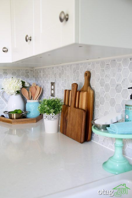 معرفی مدل های جدید رو کابینتی و میز اپن آشپزخانه بسیار شیک