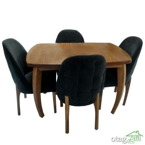 انواع مدل میز ناهار خوری 4 نفره و راهنمای خرید + 24 مدل سال 1398